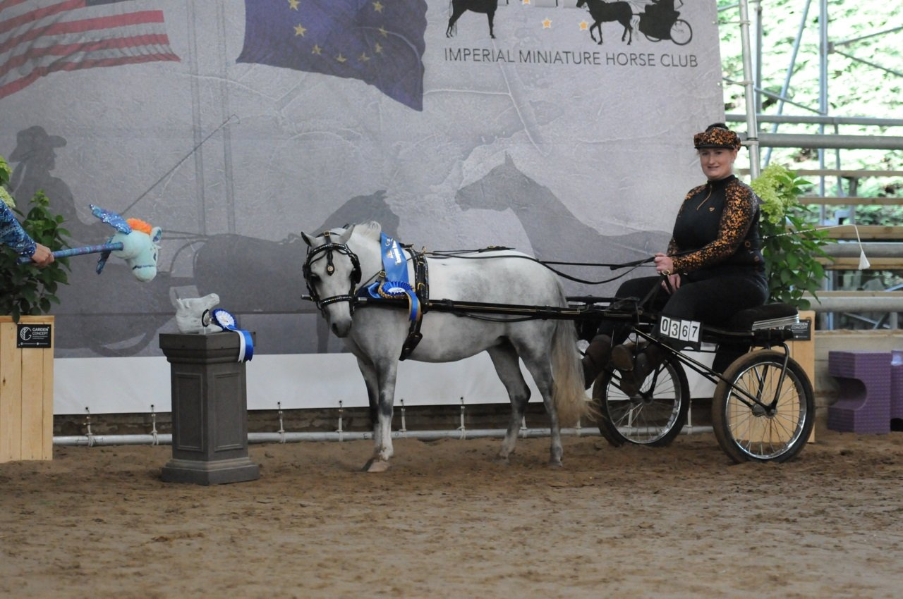 2020-08-30 Sabine en Abby in Roadster Grand champion a